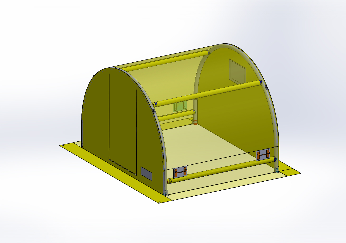 Swift Site Tent illustration